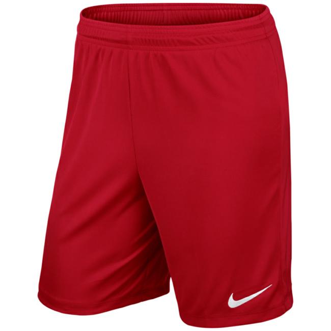 NIKE Park II Short Herren Sport Shorts ohne Innenslip Schwarz 725887 010, Größenauswahl:M