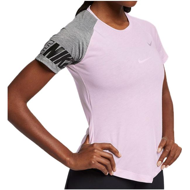 47248372ddc8c9 Miler GFX Top SS Women AV8177 663 T-Shirts von Nike