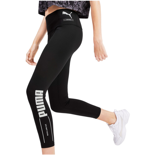 PUMA Leggings Damen schwarzweiß im Online Shop von