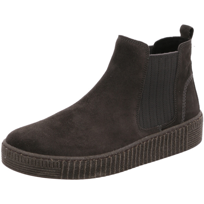 un Gabor Chelsea Boots Damen Online Marke Grau