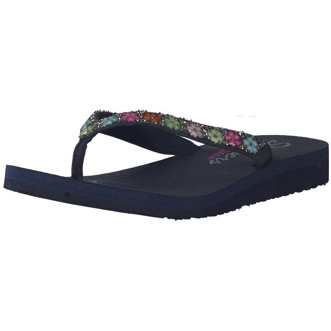 Skechers Pantoletten blau 31559 NVY