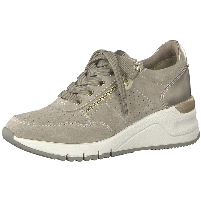 3b3e46f39b278a Da.-Schnürer 1-1-23727-22 117 Sneaker Wedges von Tamaris