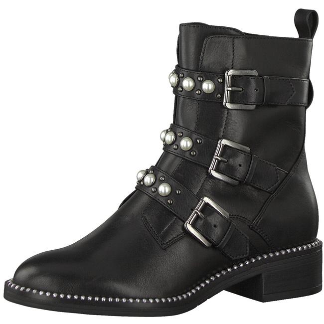 Tamaris 1 25396 21 001 Damen Black Schwarz Leder | real
