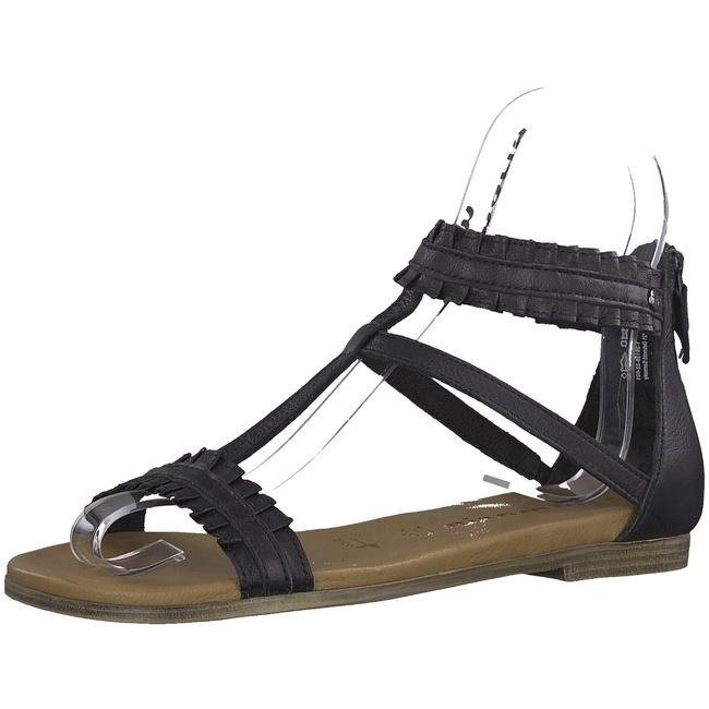 TAMARIS RÖMER SANDALEN Sandaletten Größe 38 Schwarz Braun