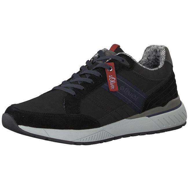 55 13614 21 21 21 001 schwarz Sneaker Niedrig von s.Oliver--Gutes Preis-Leistungs-, es lohnt sich 2dffb4