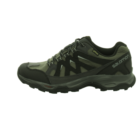 Salomon Effect GTX Herren Outdoorschuhe schwarz anthrazit Outdoor Schuh